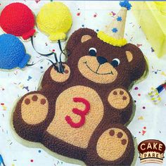 #Teddybear photo cake. Kids will go crazy for cute delicious #birthdaycake. Searching for photo cakes in #Chennai and #Bangalore Call us: 044-45535532 Visit us: www.cakepark.net