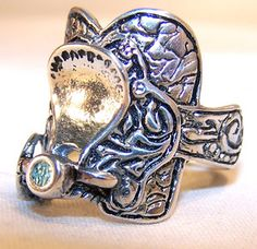 Horse Rings Jewelry | Horse Saddle Western Ring BR111R Heavy Silver New Novelty Fashion ...
