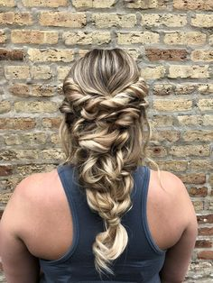 the perfect romantic hairstyle for your happily ever after | hair by goldplaited | wedding hairstyle | wedding hair | romantic wedding hair | braided hairstyle #bridetobe #weddinghair #weddinghairstyle #braids #hairstyle #elegant #salonstyle #gp