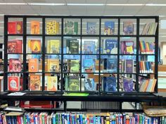 Eye-catching display from the Skokie (IL) Public Library, assembled by Ruth S. for the Youth Services department.