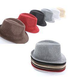 Fashion male fedoras linen cowboy hat male hat sunbonnet men's on AliExpress.com. $11.40