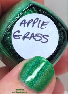ThatGalJenna - Bear Pawlish Review and Swatches - Apple Grass