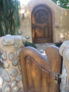 The Witches House spiderweb door