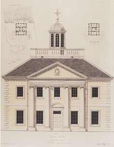 Drawings by Quinlan & Francis Terry LLP Architects