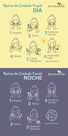 Rutina de cuidado facial para el da y para la noche 22 clean skin care and makeup products that have the clean at sephora seal of approval Face Care Tips, Beauty Tips For Face, Face Skin Care, Health And Beauty Tips, Health Tips, Facial Tips, Acne Facial, Facial Wash, Beauty Care