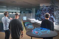Hololens: Microsoft-Brille macht das Wohnzimmer zum Autohaus