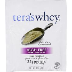 Teras Whey Protein Powder - Whey - rBGH Free - Plain Unsweetened - 1 oz - Case of 12 ** You can get additional details at the image link. (This is an affiliate link) Protein Nutrition, Sports Nutrition, Protein Power, Whey Protein Powder, It Goes On, 1 Oz, Gluten Free, Dairy Free, Pure Products
