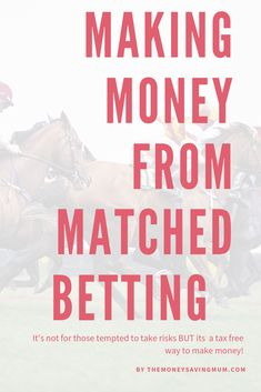How to make money matched betting Make Easy Money, Ways To Save Money, Make Money From Home, Money Tips, Make Money Online, Matched Betting, Save On Foods, Tax Free, Frugal Living Tips