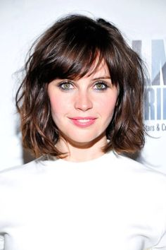 Short Bob Haircut The gorgeous bob shows off jagged cut layers cut around the length to add shape and lighten the edges. Description from pinterest.com. I searched for this on bing.com/images