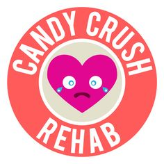 Candy Crush Rehab Funny Shirt. Rehab may be the best solution for Candy Crush addicts.