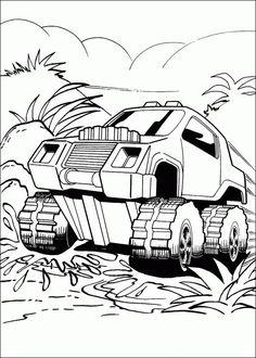 Ausmalbilder Hot Wheels 03