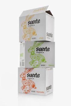 Tequila suerte (packaging) by Swig studio