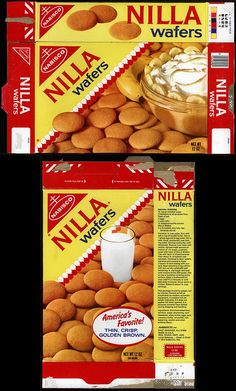 Nabisco - Nilla Wafers - vanilla wafers 12oz cookie box - 1970's | Flickr - Photo Sharing!