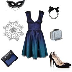 """""""Midnight Masquerade"""" by rachael-phillips on Polyvore"""