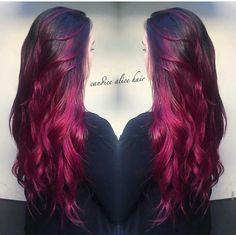 Velvet Red Hair on Pin...