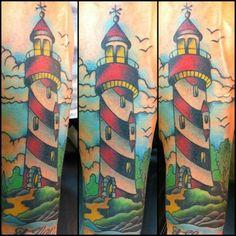 Lighthouse #tattoos