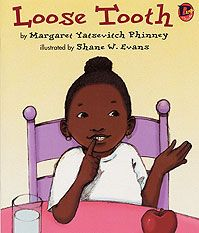 Ages 4 and up - An African American girl wonders throughout the week when her loose front tooth will come out.