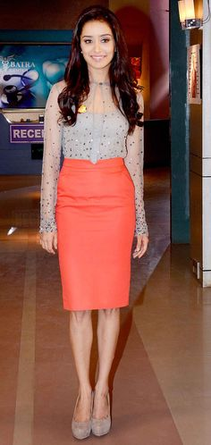 Shraddha Kapoor on 'Yeh Hain Mohabbatein'. #Style #Bollywood #Fashion #Beauty