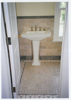 Custom floor and wall tile. http://www.jpmoorehomeimprovements.com/our-services/bathroom-remodeling/