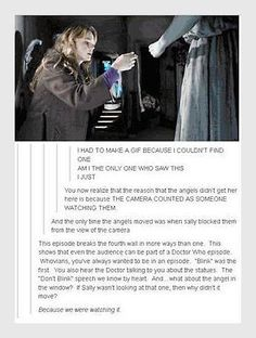 mind blown <<< but how about the episode ''The time of the angels''?