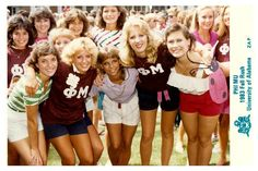 Flash Back to the Alpha Zeta Chapter's Bid Day in 1983