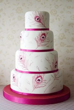 Wedding Magazine - Wedding Cakes - Contemporary Cakes.