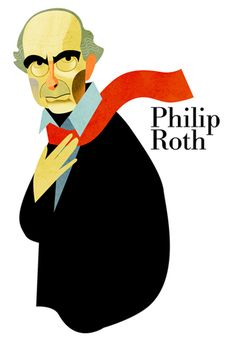 Philip Roth / writer / by Francisco Javier Olea Philip Roth, Leonard Cohen, My Memory, Libraries, Caricature, Bookshelves, Authors, Literature, Writer