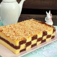Polish Desserts, Fancy Desserts, Polish Recipes, Sweet Desserts, Holiday Desserts, Breakfast Menu, Homemade Cakes, Desert Recipes, Amazing Cakes