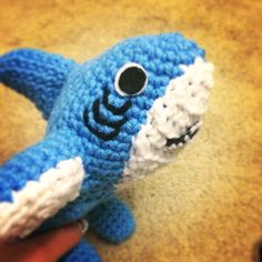 Left shark plushie! I made it myself! Please donate! www.gofundme.com/ehrudo I need money for tuition!