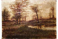 Oil Painted Landscape