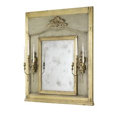 Glace Et Appliques Mirror HH11-234-AS Highland House | French Country