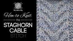 How to Crochet the Popping Cable Stitch. This video crochet tutorial will help you learn how to crochet the popping cable stitch. For photos and written pattern instructions for this stitch, please visit: . Crochet Motifs, Crochet Stitches Patterns, Tunisian Crochet, Learn To Crochet, Stitch Patterns, Knit Stitches, Free Crochet, Knitting Patterns, Spiral Crochet
