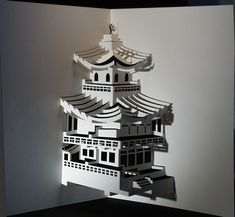 The Japanese art of kirigami combines the paper folding of origami with strategic cutting.                                                                                                                                                                                 Más