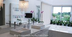 Os banheiros estão cada vez mais modernos e aconchegantes! Além da funcionalidade, os profissionais buscam para esse ambiente um lug...
