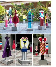 Modern Sculpture, Sculpture Art, Parc A Theme, Art Public, Paving Design, Photo Zone, Memphis Design, Expositions, Design Museum