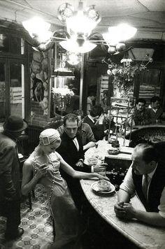 Frank Horvart. Au chiem qui fume, Pour Jardin des Modes, 1957