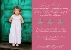 Birthday Invitations for your princess