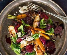Pečená kořenová zelenina | Recepty Albert Korn, October, Beef, Ethnic Recipes, Fit, Meat, Shape, Steak