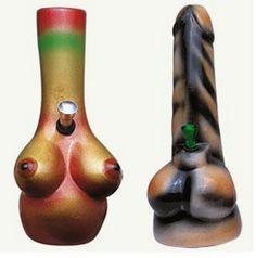 Bongs - Click-N-Hit Portable, Compact, Discreet Smoking Pipe ...