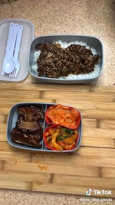 Easy Korean Lunch Box Bento Beef Bulgogi With Side Dishes Korean Food Recipe Food TikTok Healthy Korean Recipes, Korean Food, Korean Lunch Box Recipe, Bento Recipes, Brunch Recipes, Bulgogi Recipe Easy, Food Porn, Food Videos, Recipe Videos