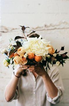Using fruits in floral arrangements