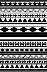 Resultado de imagen de tribal pattern stencil