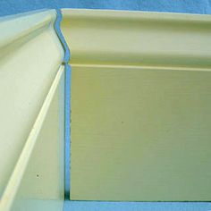 Home improvement article about installing wood base board with cope-cuts. Basic Carpentry Tools, Trim Carpentry, Baseboard Trim, Baseboards, Woodworking Joints, Woodworking Techniques, Diy Furniture Projects, Wood Projects, Architrave Door