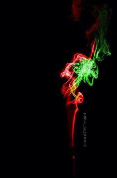 Jugando con humo, editado sc6 colores
