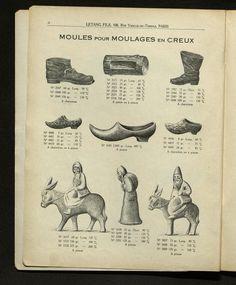 #moules à #gâteaux et à #bûches Bibliothèque Forney Paris, Mussels