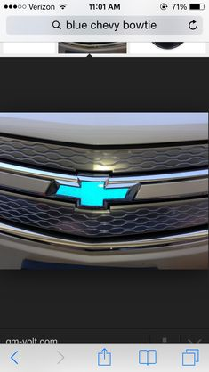 Tiffany Blue Chevy bowtie