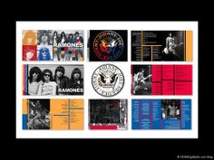 Ramones Greatest Hits CD Package Album Art