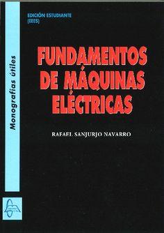 En el capítulo dedicado a los inductores, se estudian los conceptos fundamentales y las ecuaciones básicas de los circuitos magnéticos. Los capítulos siguientes se dedican a los distintos tipos de máquinas, desde las más sencillas, los transformadores, a los motores y generadores eléctricos. Claro, riguroso y preciso. #eléctricas #máquinas #electric #électrique Búscalo en : http://absys.asturias.es/cgi-abnet_Bast/abnetop?SUBC=032401&ACC=DOSEARCH&xsqf01=sanjurjo+fundamentos
