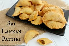 Curry and Comfort: World on a Plate (Dumplings): Sri Lankan Patties (Savory Filled Pastry)