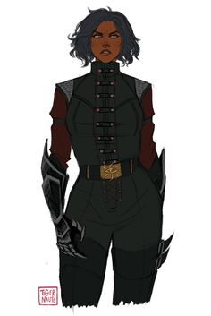 Antares sketch 2 by Tigernaute Source by lililobo ideas aesthetic Fantasy Character Design, Character Creation, Character Drawing, Character Design Inspiration, Female Character Concept, Black Characters, Dnd Characters, Fantasy Characters, Female Characters